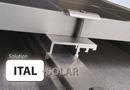 Ital-Solar, intégration solaire en toiture pour bacs secs ou panneaux sandwiches