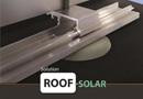 Roof-Solar, intégration solaire en toiture pour toits plats ou à faible pente par Dome Solar
