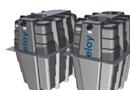 Oxyfix® G-90 : station d'épuration compacte basée sur le procédé Oxyfix® et intégrée dans des cuves en matériau composite