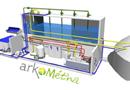 ArkoMétha : méthanisation bi-phase de matière épaisse en continu par Arkolia Energies