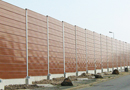 Mur, écran, bâche : protection antibruit pour routes et voies ferrées par ECIB