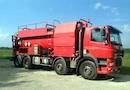 Hydrocureur 15.000L DAF 85.430 ADR - Occasion 2003 - dpt 02 - Matériels d'occasion