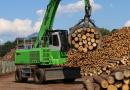 SENNEBOGEN : des pelles de manutention spécifiques pour l'industrie du bois par SYGMAT