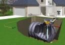 AQUAMOP, système de récupération des eaux de pluie 3.000-8.000L par SIMOP SAS