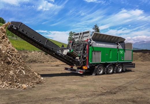 CRAMBO, broyeur lent universel pour le bois et les déchets verts par HANTSCH