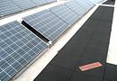 Protection de l'étanchéité en toiture Regupol® pour installations solaires par BSW