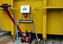 SACM200 : pesage des boues et déchets liquides pour bennes amovibles