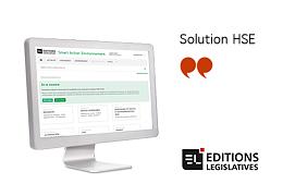 Solution HSE, vos repères réglementaires en Environnement et Sécurité par Editions Législatives