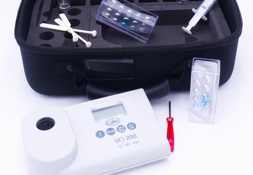 Photomètre MD200 : pour caractériser les eaux de piscine, potables ou usées