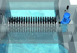 Mammutrotor®, aérateur de surface pour le traitement biologique des eaux par Aqseptence Group