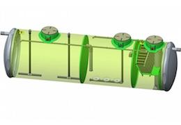 Stations d'épuration OXYMOP pour le traitement des filières de 21 à 980 EH