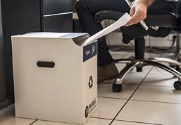 Déchets de bureau : simplifier la collecte cinq flux avec EasyRecyclage par Paprec