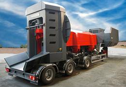 REFLEX : presses cisailles à ferraille 500-900t transportables sur chantier par COPEX