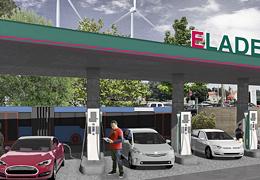 Station 600 kW pour la charge ultra-rapide des véhicules électriques
