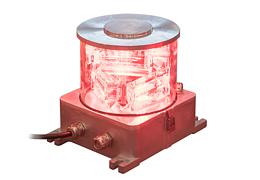 Feu à LED rouge MI Obsta pour balisage des mâts de mesure de vent