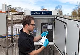 Alyza IQ : mesurer en ligne l'ammonium ou les orthophosphates dans l'eau