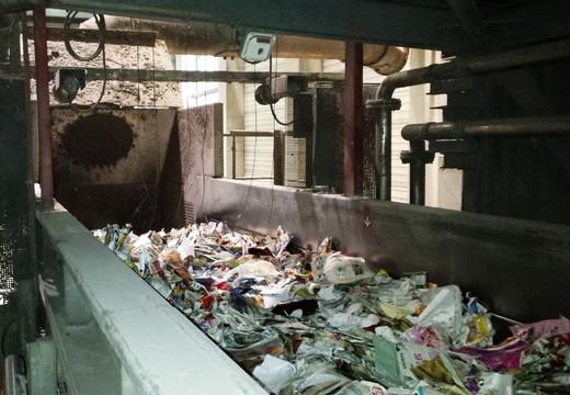 Pesage du papier recyclé - Mesure de débit massique DuoSeries LB 472