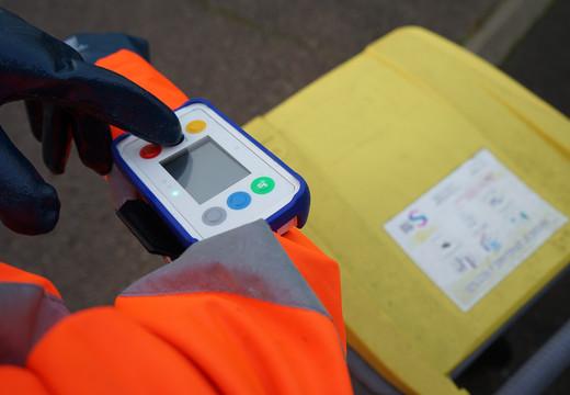 Dispositif digital de remontée des anomalies de tri par les ripeurs