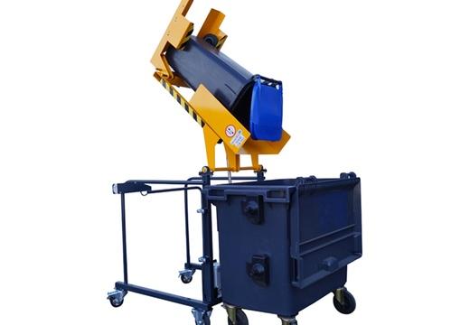 Videur retourneur de poubelle 80 à 360 litres VD135°