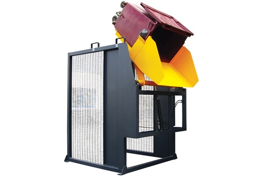 Videur poubelle 660 à 1 100 litres VD130°