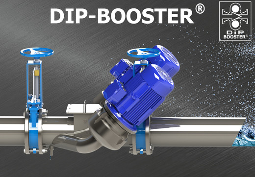 DIP-Booster® : la solution DIP dédiée aux eaux pluviales
