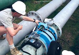 Maintenance des dispositifs d'autosurveillance pour stations d'épuration et rejets industriels par Endress+Hauser