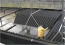 Décanteur lamellaire pour eaux usées, potables, de pluie