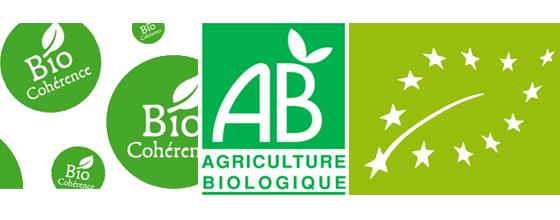 Agriculture biologique label