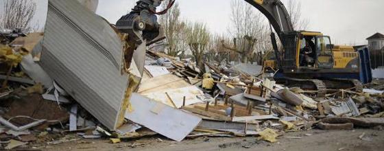 Où en est la collecte des déchets générés par la tempête Xynthia ?