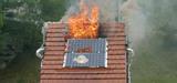 Une installation photovoltaïque bien réalisée n'accélère pas la propagation d'un incendie