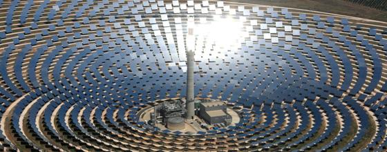 Solaire thermique concentration le solaire esp re s 39 affranchir de l 39 intermittence - Centrale solare a specchi ...