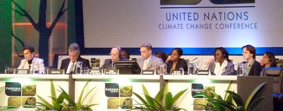 Climat : la réunion de Panama maintient l'incertitude sur l'avenir des négociations