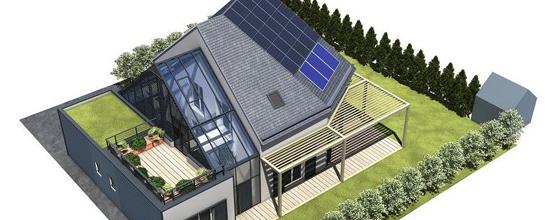 Batiment energie positive construire pour demain for Construire une maison a energie positive