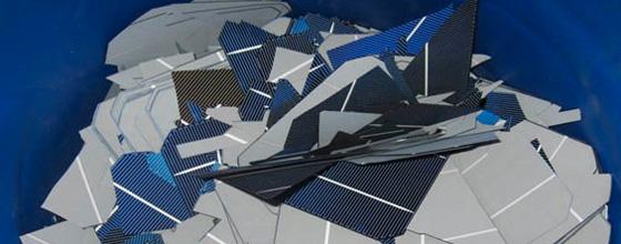 L 39 avenir doublement vert des panneaux photovolta ques for Recyclage des panneaux solaires