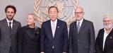 L'équipe de Tara Oceans rencontre le Secrétaire Général des Nations Unies, dans l'optique de Rio+20