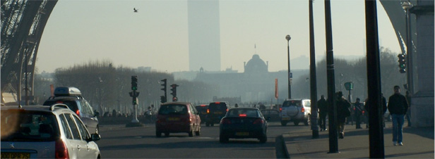 La pollution de l'air francilien est rest�e pr�occupante en 2011
