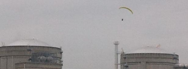 Sécurité des centrales nucléaires : nouvelle opération coup de poing de Greenpeace