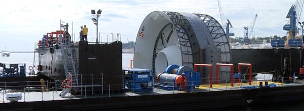 Energies marines : les professionnels de la mer plaident pour l'hydrolien et l'éolien flottant