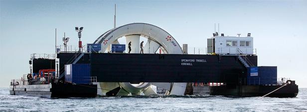 Energies marines renouvelables : un AMI pour les briques technologiques
