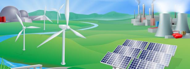 """DNTE : Le groupe de travail """"mix énergétique"""" propose quatre trajectoires pour 2050"""