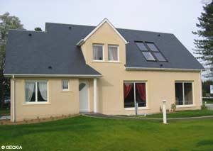 Le premier mod le de maison labellis e nf maison for Nf maison individuelle