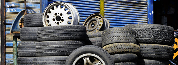 Déchets de pneus : la filière REP échappe à l'agrément