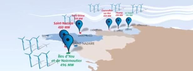 Eolien offshore : GDF Suez remporte l'intégralité du deuxième appel d'offres