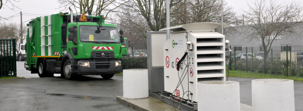 Quatre mesures pour d�velopper le carburant gaz naturel en France
