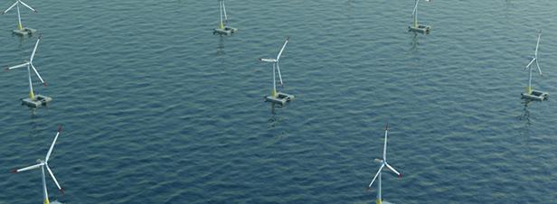Eolien flottant : Eolfi et Eolmed sélectionnés pour développer des fermes pilotes