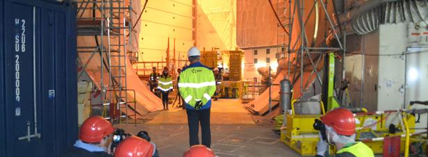 Nucléaire: la relance d'EDF suspendue à la cuve de l'EPR