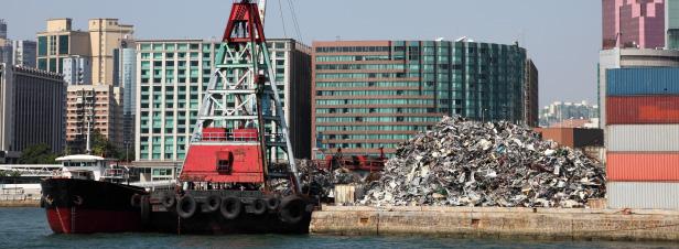La Chine ferme ses portes aux déchets occidentaux