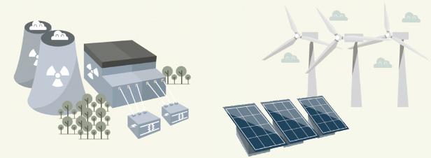 NégaWatt livre son analyse des scénarios électriques de RTE