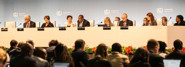La conférence climatique de Bonn, étape d'un agenda chargé jusqu'à la COP 24