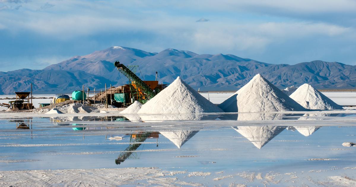 A l'horizon 2050, l'approvisionnement en lithium connaîtra des tensions